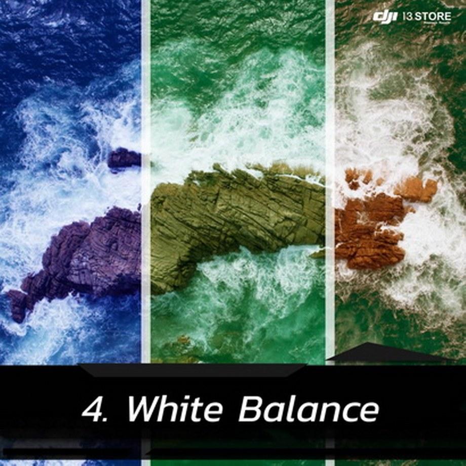 White Balance สมดุลแสงสีขาว