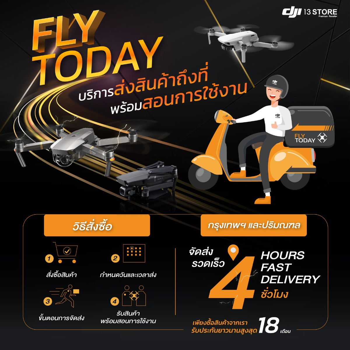 fly to day