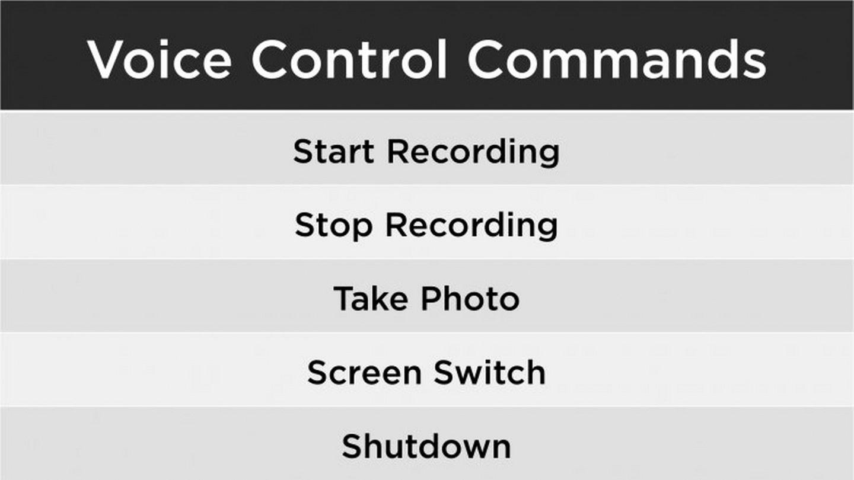 DJI Osmo Action-Voice Control