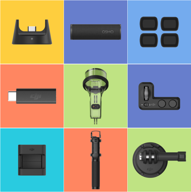 Osmo Pocket-Accessories