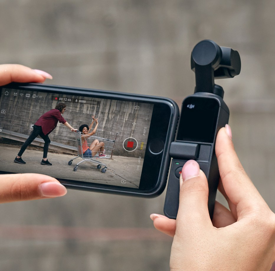 Osmo Pocket-Connect Smartphone