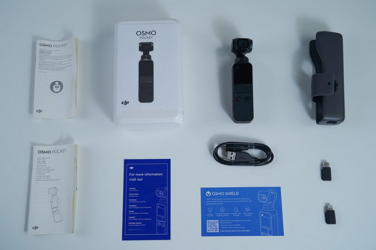 Osmo Pocket-In The Box