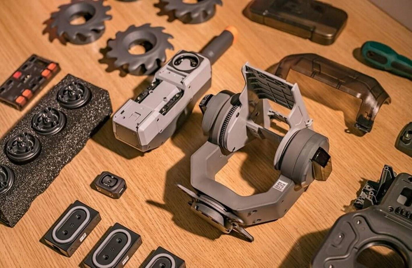 Robomaster S1-Gimbal Module and Blaster