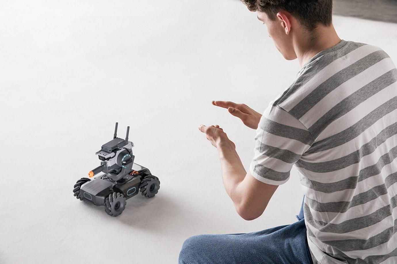 Robomaster S1-Clap Recognition
