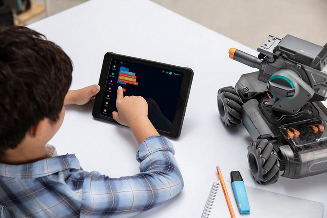 Robomaster S1-Develop Custom Skills